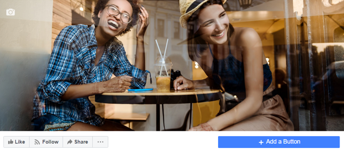 Facebook Page Add Button